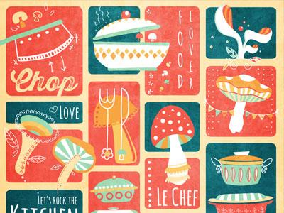 Kitchen Pattern Johanna Fritz