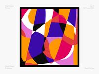Pattern mosaic pattern abstract colours digital painting digital illustration vector illustrator daily design challenge design