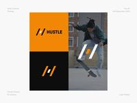 Hustle logo inspiration logodesign sports sports branding sports logo h icon abstract illustrator dailycreativechallenge branding logo design daily design challenge