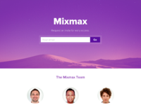 Mixmax teaser form
