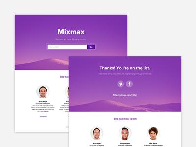 Mixmax Teaser