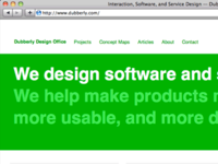 Dubberly Design Office Website