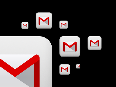 Gmail 2.0 App Icon icon retina apple ios iphone ipad google app