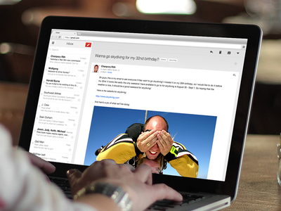 iOS-style Gmail for Desktop!