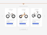 Online store - navigation