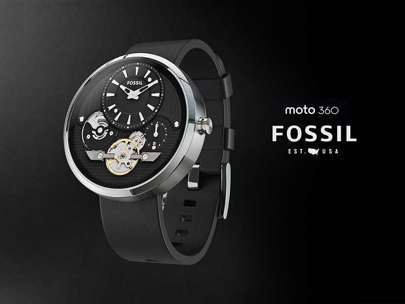 Moto360 Fossil android wear moto360 ui watch wearable fossil