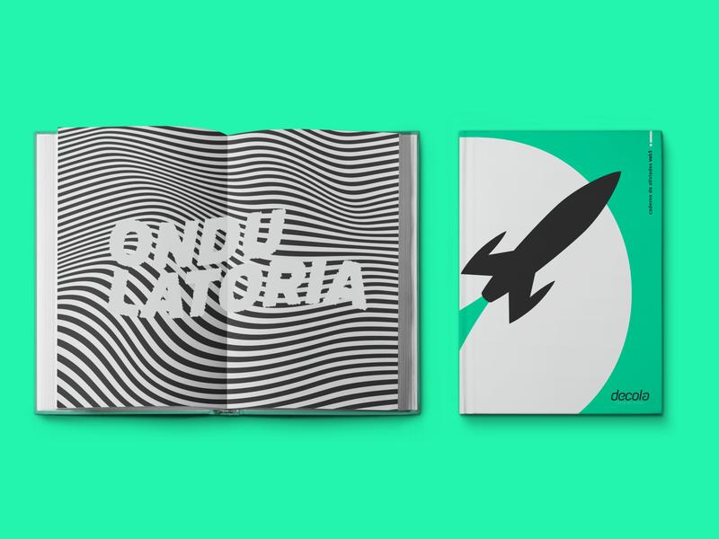 DECOLA | BOOK graphic design branding logo design