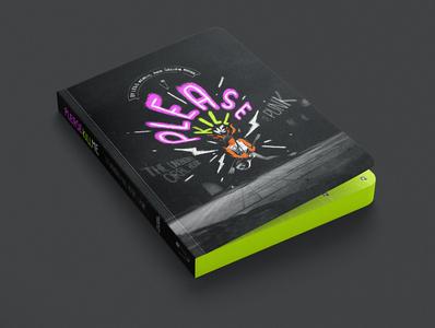 Please Kill Me Book Cover animation illustration design logo vector