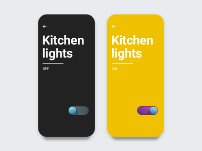 Daily UI - 015 cta switch onoff button toggle on off switch 015 dailyui daily ui