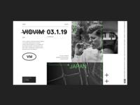 VISVIM • Microsite Concept