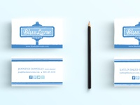 Blue Lane Events Business Cards