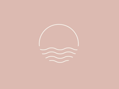 wavy icon mark by patti murphy on dribbble wavy icon mark by patti murphy on dribbble