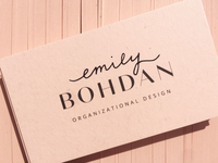 Emily Bohdan Business Cards
