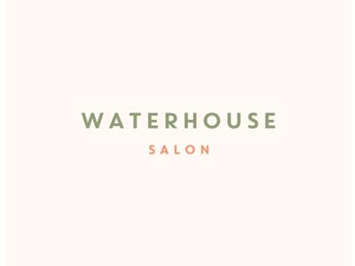Waterhouse Salon contemporary classic sophisticated modern minimalistic sans serif clean minimal