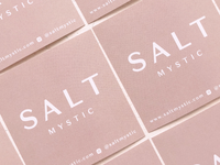 Salt Mystic Packaging Stickers