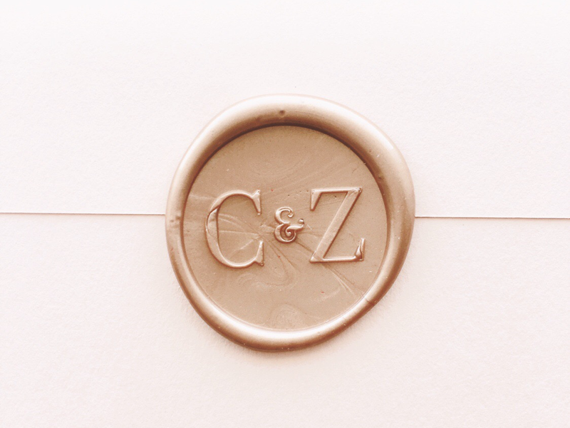 Wax Seal Monogram By Patti Murphy