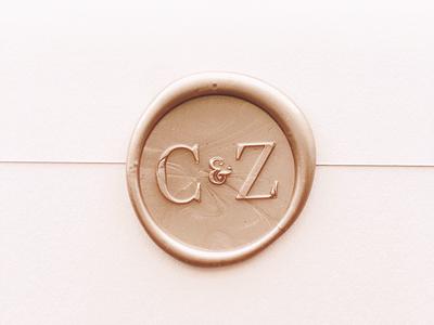 Wax Seal Monogram wedding monogram wax sealed seal envelopes invitations stationery wedding monogram wax seal wedding invites