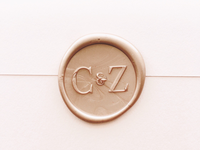 Wax Seal Monogram
