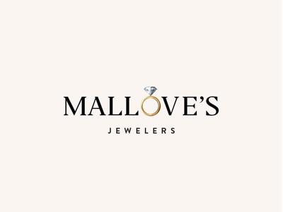Mallove's Jewelers Branding luxury luxury brand gradient brand logo jeweler jewelry diamonds gold