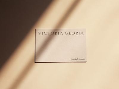 Victoria Gloria Branding