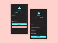 #001. Sign Up Screen