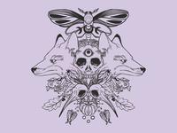 Foxes + Skulls + Moths + Autumn Leaves