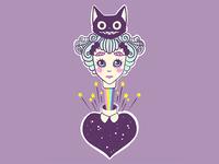 Alice In Wonderland & The Cheshire Cat