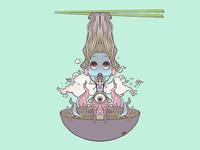 Ramen Noodle Girl