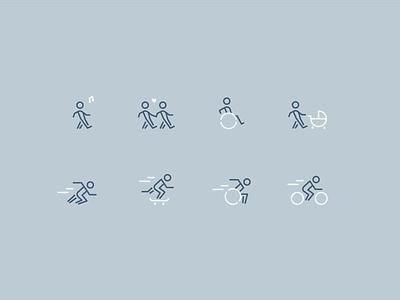 Slow & Fast Icons icon design icon set icons