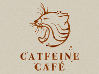 Catfeine Cafe Logo