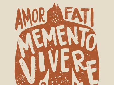 Amor Fati Dove Graphic mementomori amorfati stoic philosophy seneca quote philosophyquotes marcus aurelius epictetus stoicism stoic