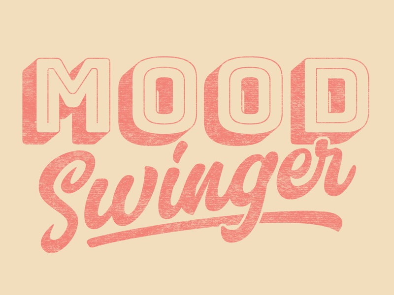 Mood Swinger mood swinger funny illustration design illustration