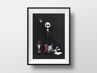 The nightmare before christmas disney halloween dark ghost christmas tim burton nightmare before christmas jack skellington