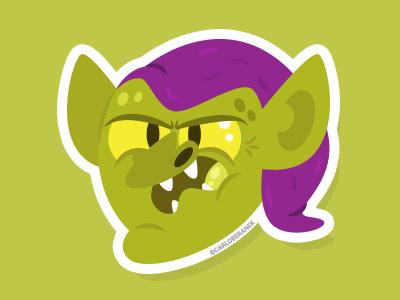 Sinister Stix    Green Goblin