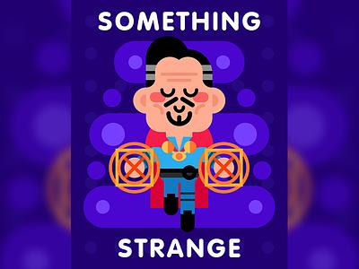 Something strange illustration cute character gallery strange doctor strange marvel planet-pulp