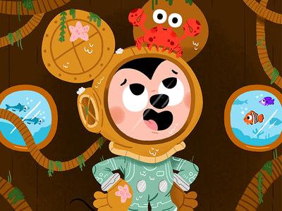 #QuickieMickey illustration fun mickey mouse kids mickey disney