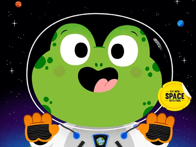 My first trip to space... toddler draw kawaii colour book animal character drawing animals kidslit fun kids illustrator cute illustration