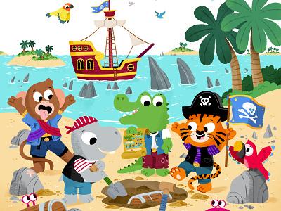 Ahoy! kawaii toddler animal book character drawing animals kidslit fun kids illustrator
