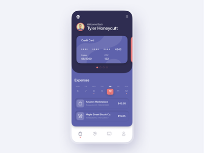 Mobile Banking UI ux ui mobile account money app creditcard credit cards money bank mobile banking app mobile banking mobile bank