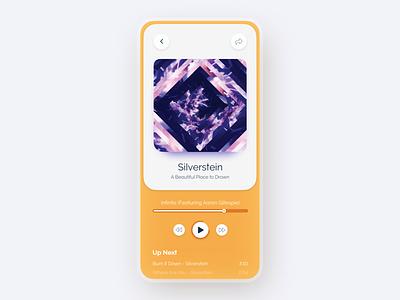 Music Player App UI album art album music player music app music uiux uidesign ui design ui