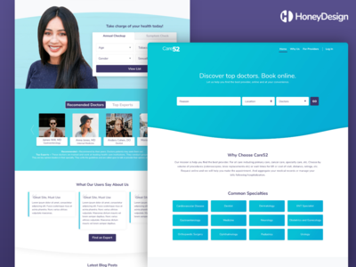 Care52 Landing Page