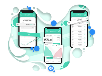 BlockSense Illustration money app stock exchange bitcoin cryptocurrency stocks money website green website website ui ux drawing stock app currency app money digital art artwork illustration challenge illustration art illustrator illustration