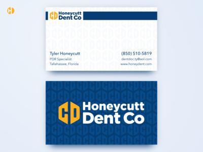 Honeycutt Dent Co Business Cards
