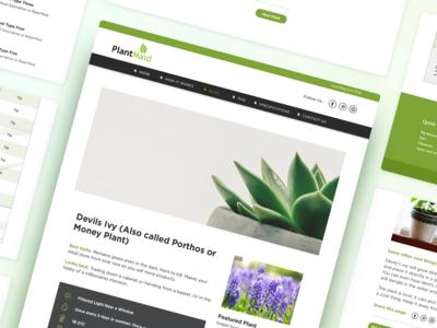 PlantMaid Blog + Table