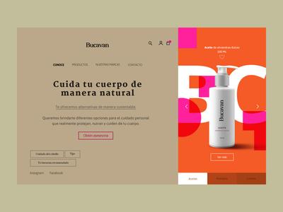 Bucavan Homepage