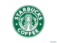 7 pointed Starbucks