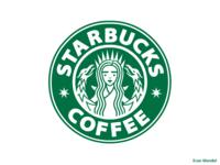 7 pointed Starbucks