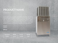 Product Page Mockup