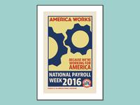 American Payroll Poster