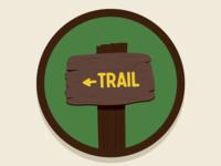 Trail Sign Rebound
